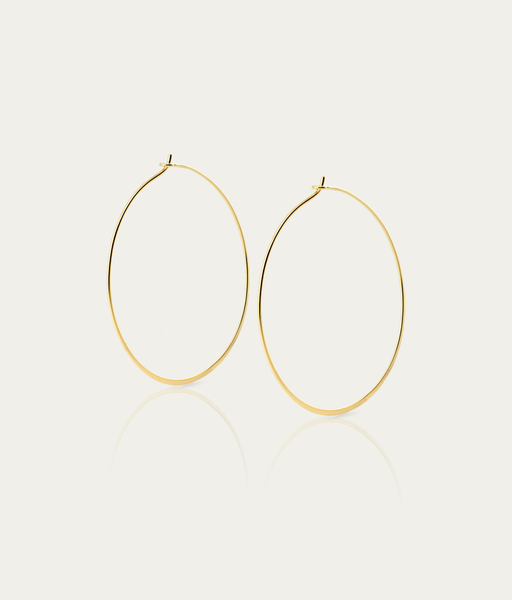 Boucles d'oreilles Endless or