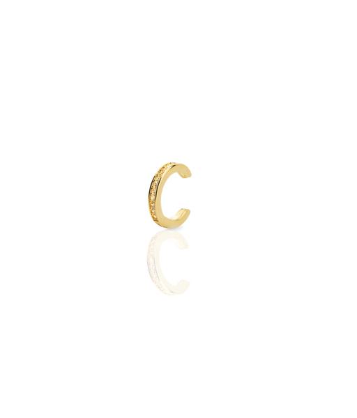 Gold Ear cuff cz