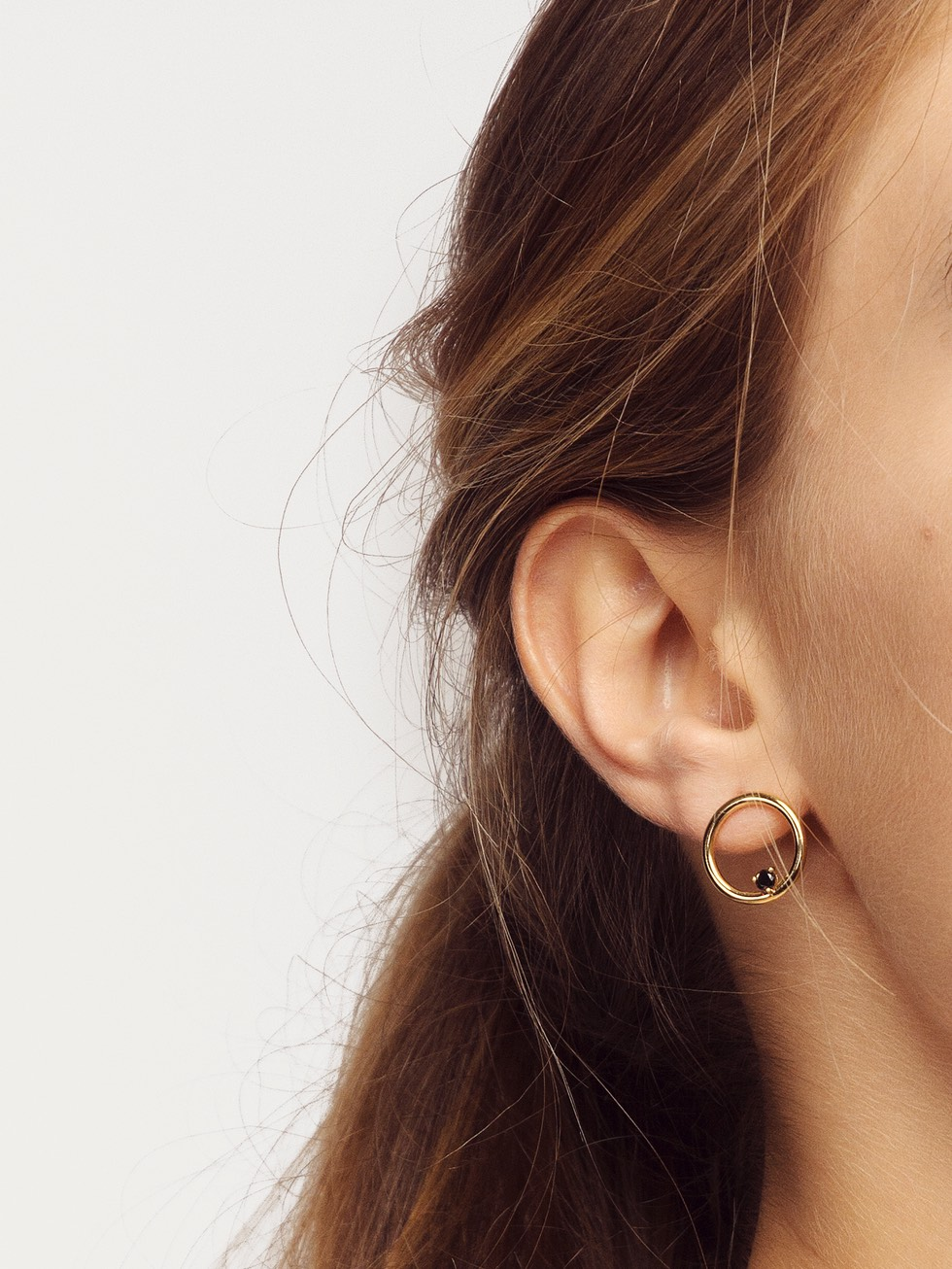 NUIT gold earrings
