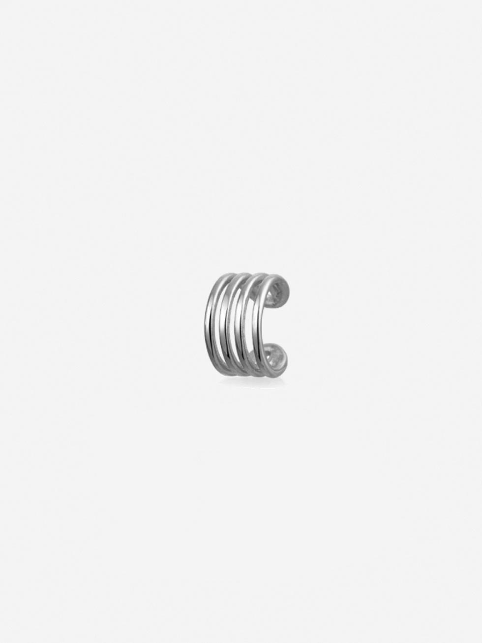 Pendientes clip silver2