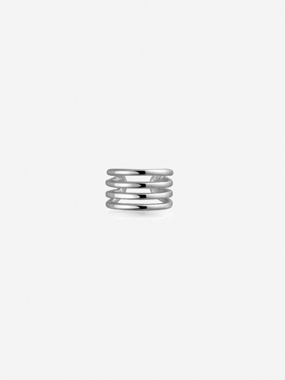 Pendientes clip silver3
