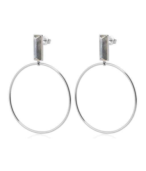 ARTILES silver earrings