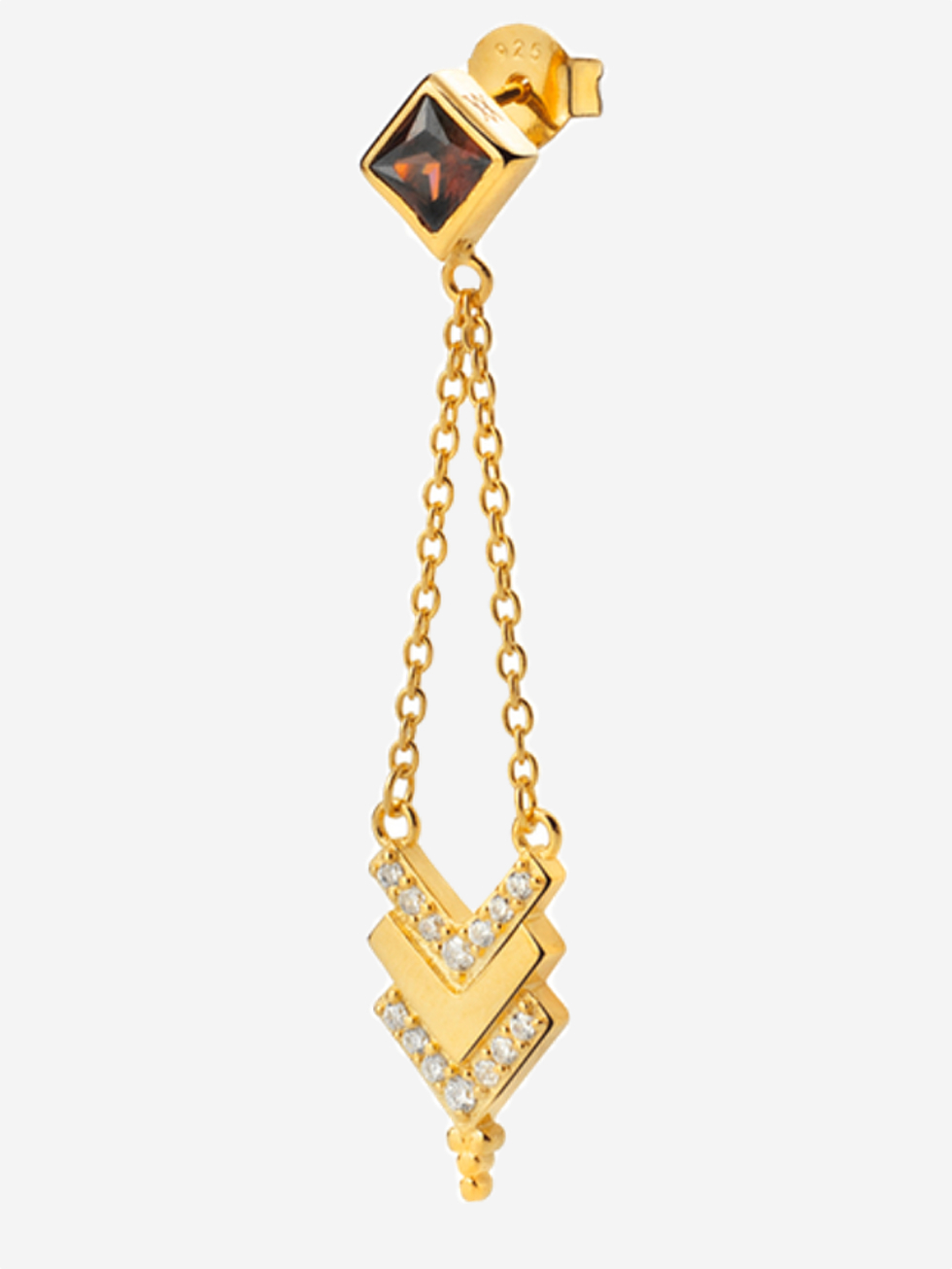 Pendientes tribe gold zoom