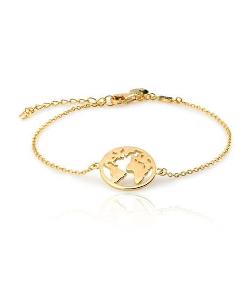 Gold WORLD bracelet