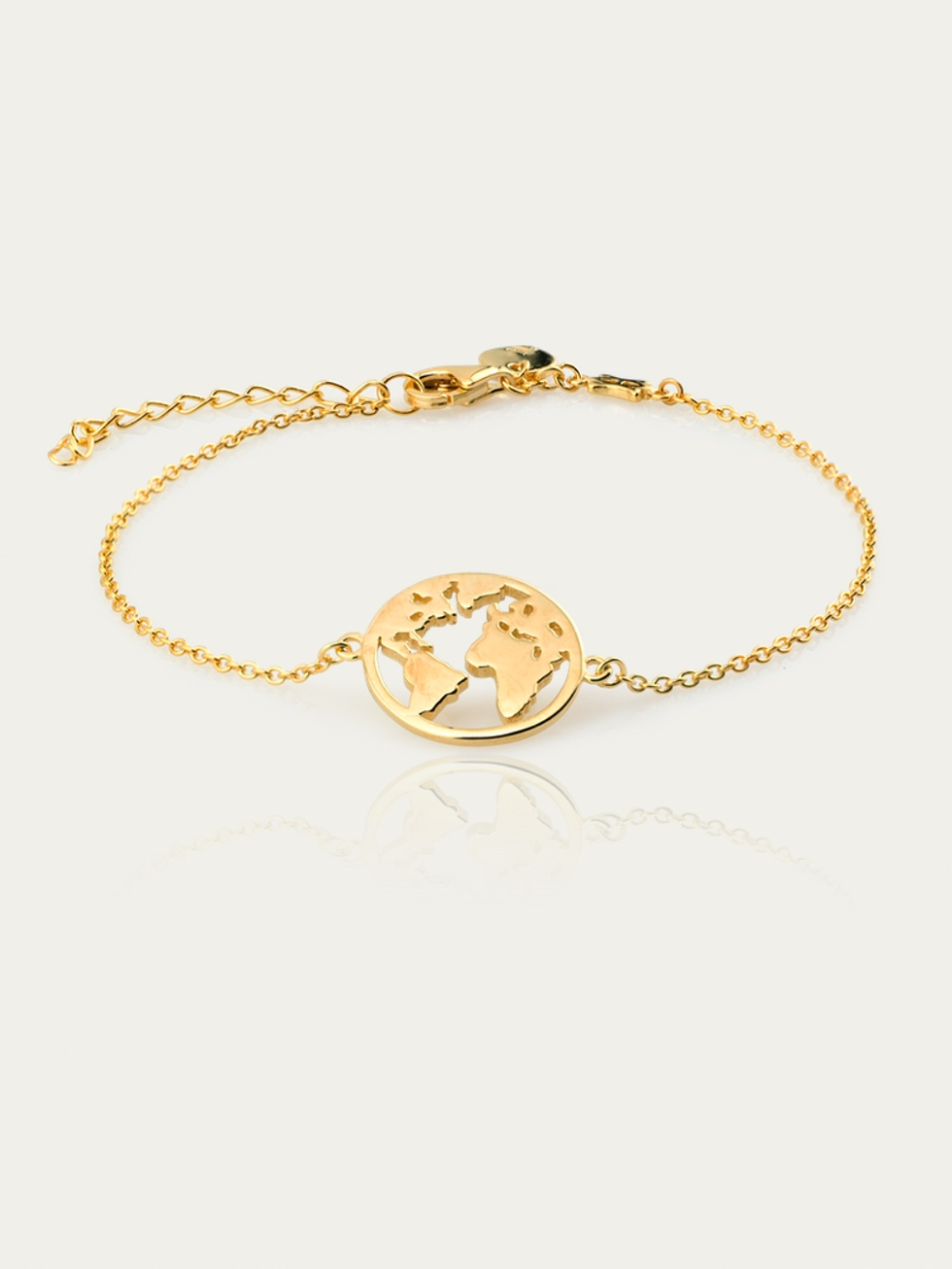 World bracelet gold2