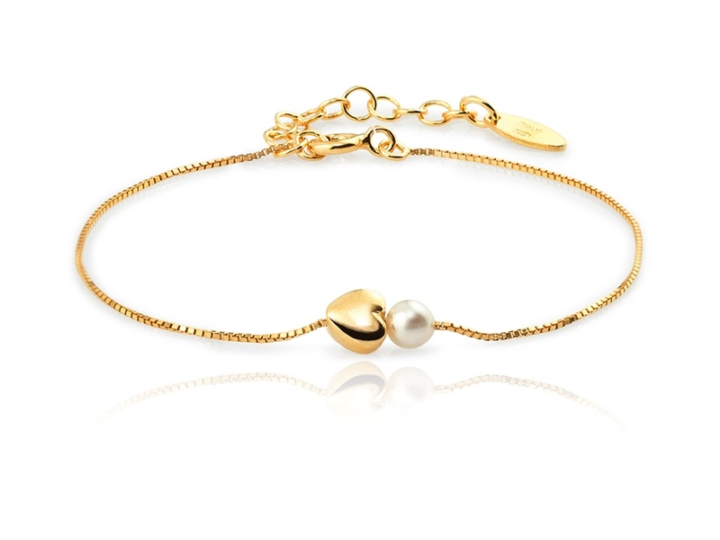 Bracelet PERLA CORAZON or