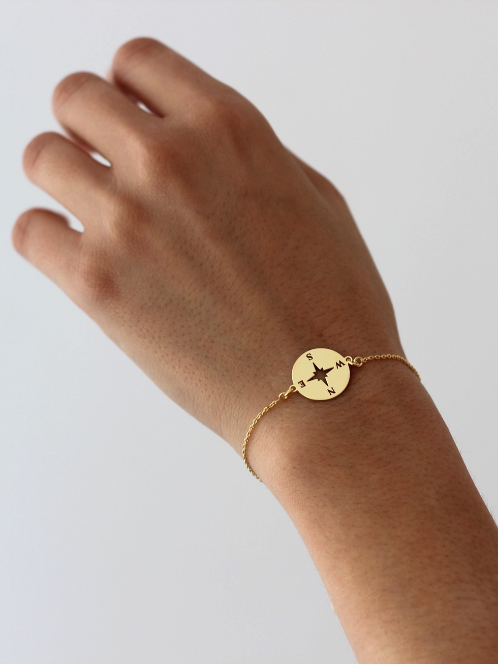 Pulsera rosaviento gold mod