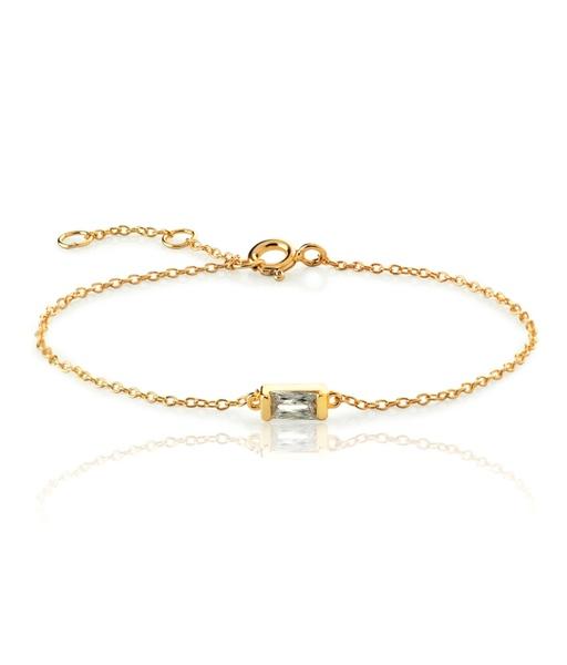 BAGUETTE gold bracelet