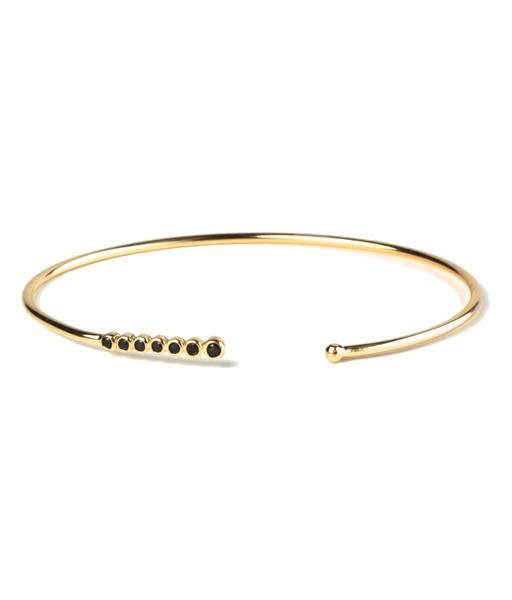 SEVEN BLACK gold bracelet