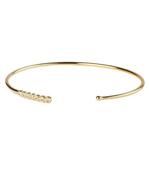 SEVEN WHITE gold bracelet
