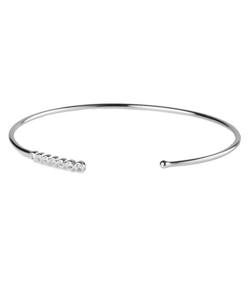 SEVEN WHITE silver bracelet
