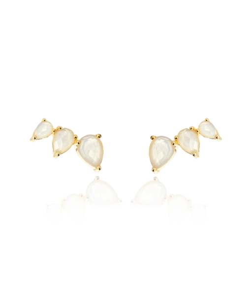 NATURE gold earrings