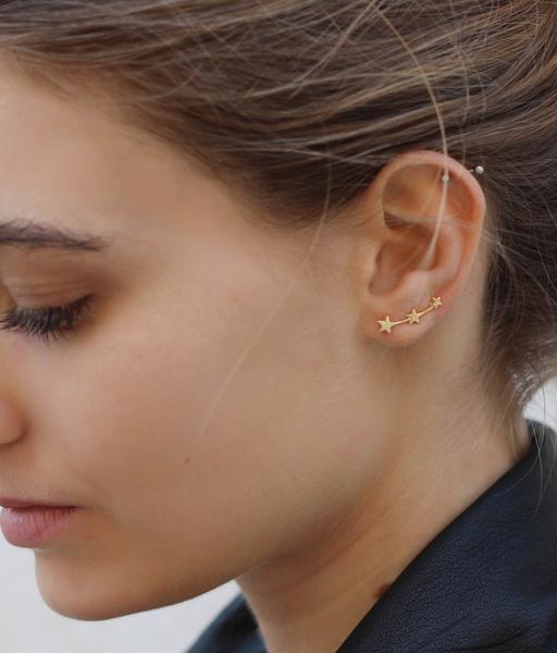STELLA gold earrings