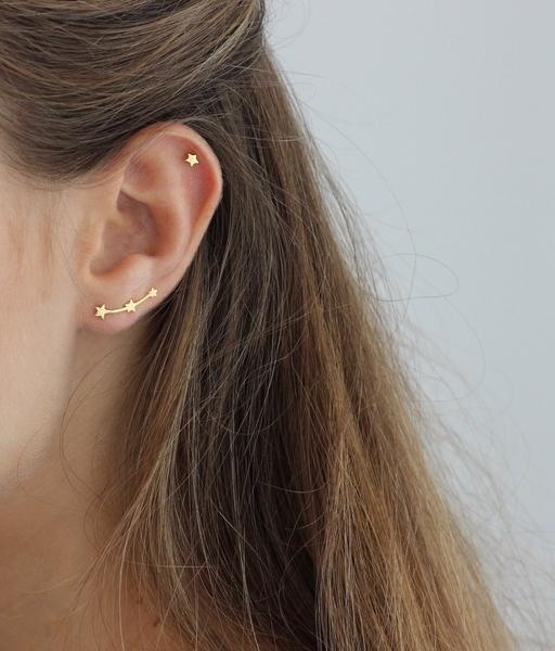 Boucles d'oreilles ESTRELLA or