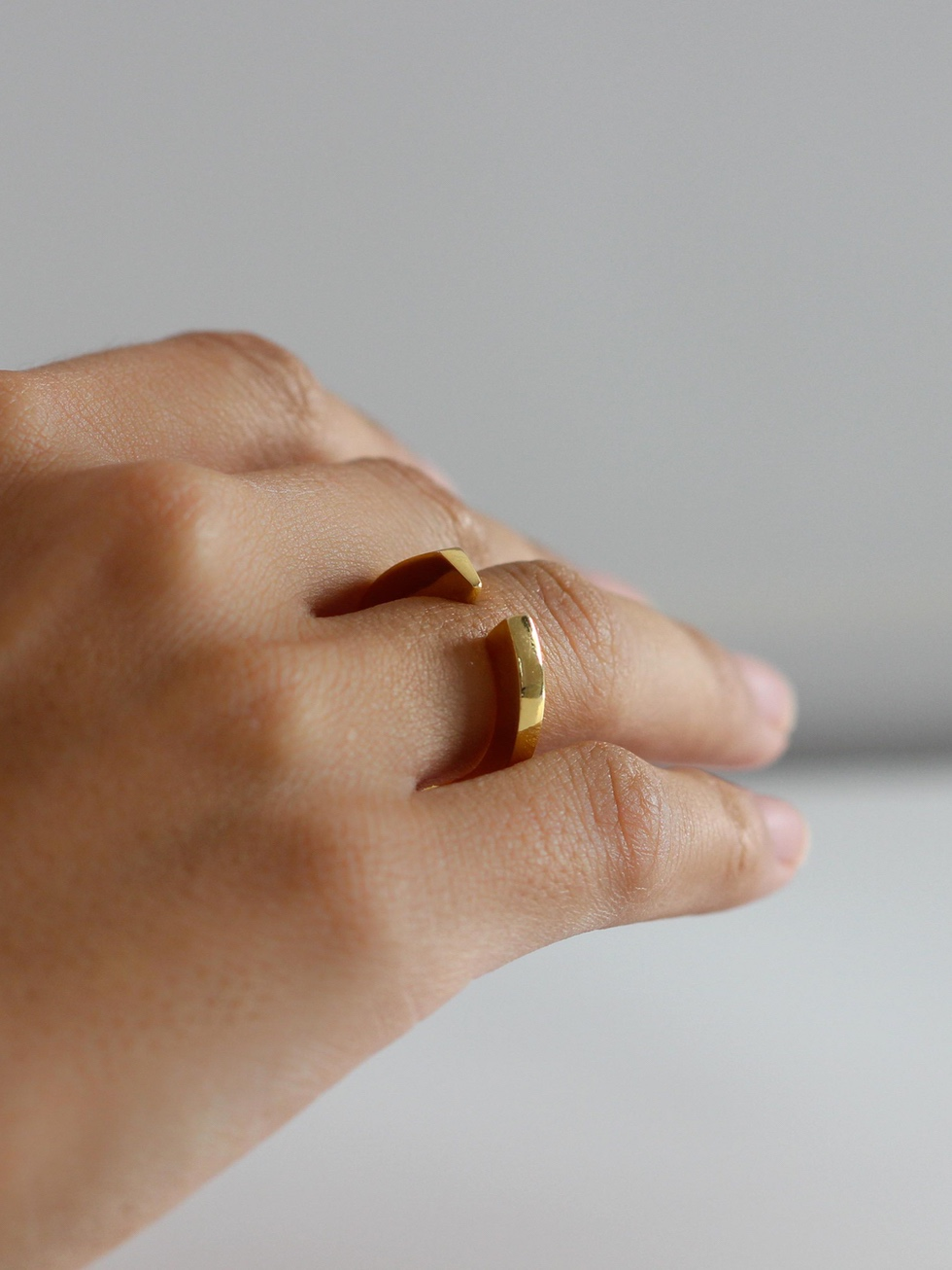 Gold BOLD ring