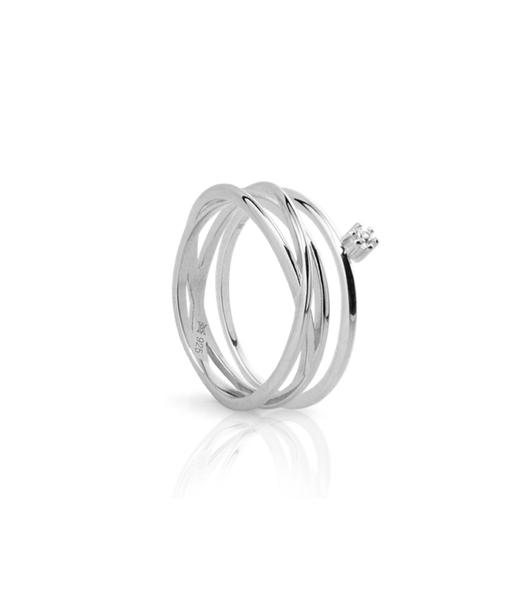 NIDO silver ring