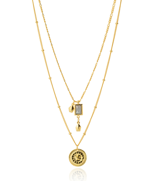 NIRVANA gold necklace