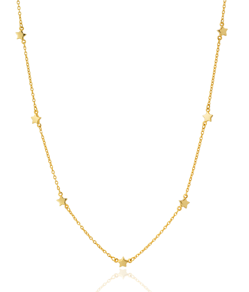 STARS gold necklace