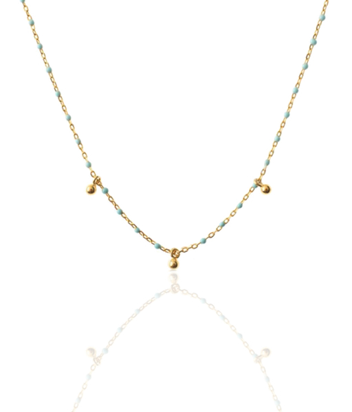 Collier TURQUESA or