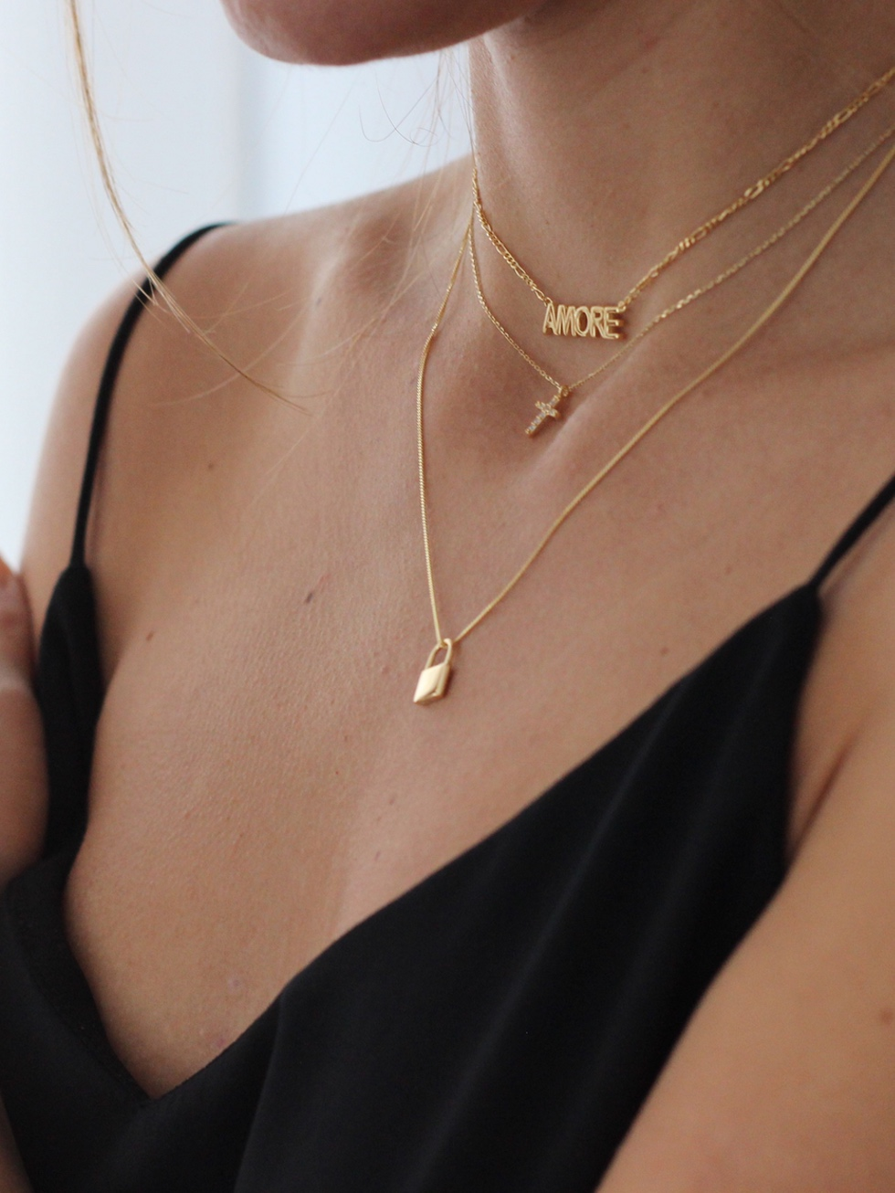 Collar amore gold2