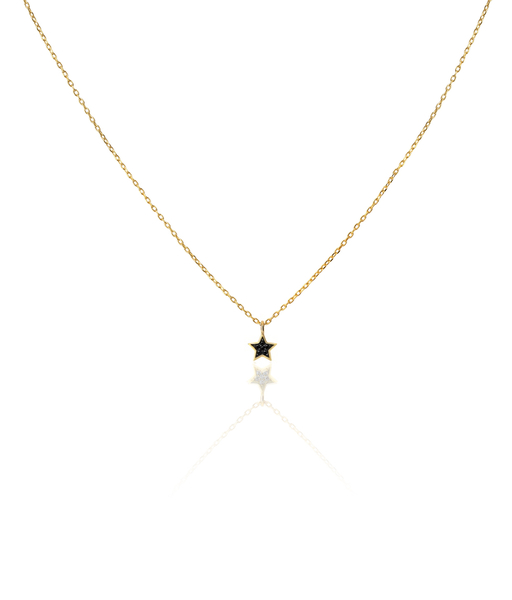 ESTRELLA WCZ gold necklace