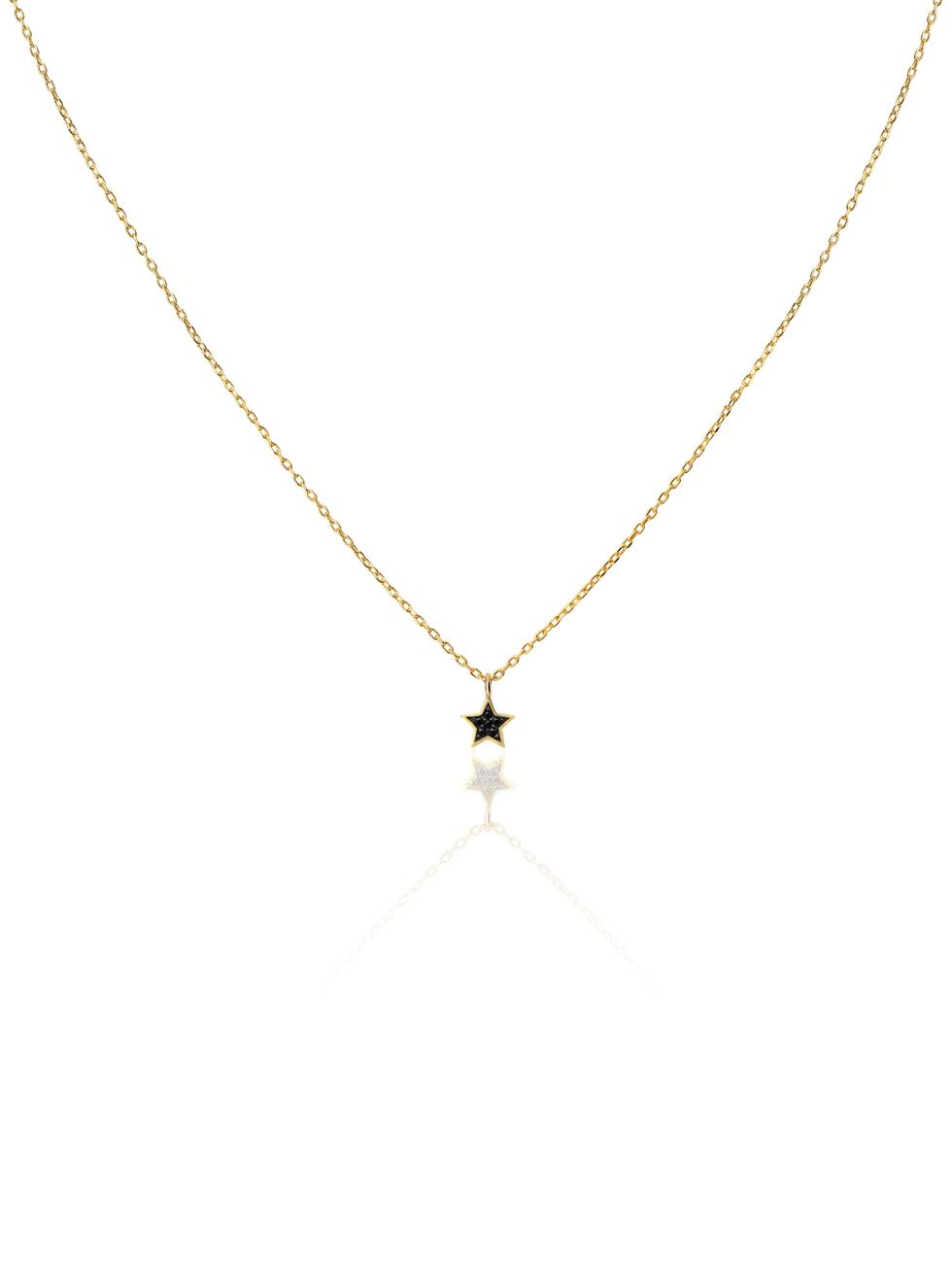 Collar estrellaczblack gold