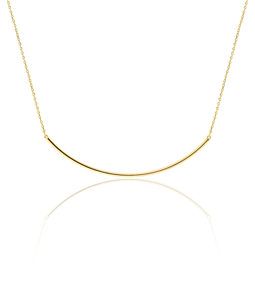 XLine gold necklace