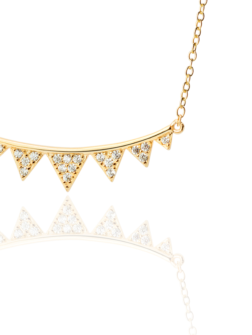 Collar lungersee gold