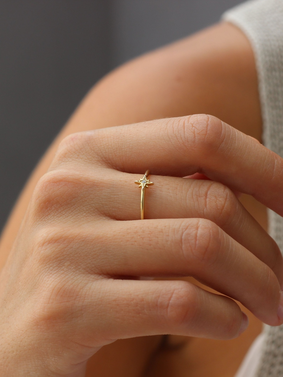POLAR gold ring