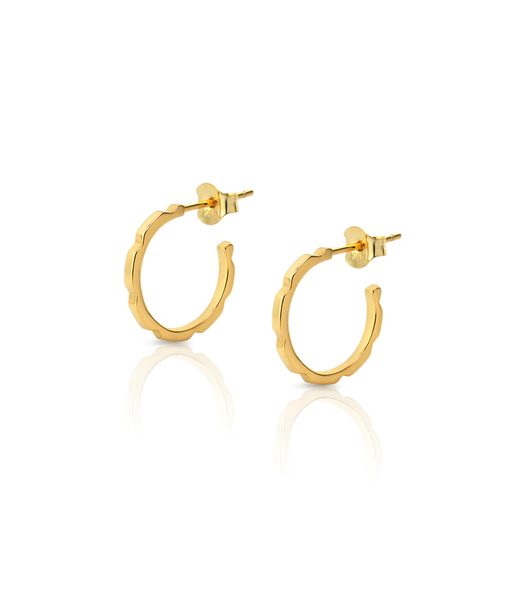 CUBIK gold earrings
