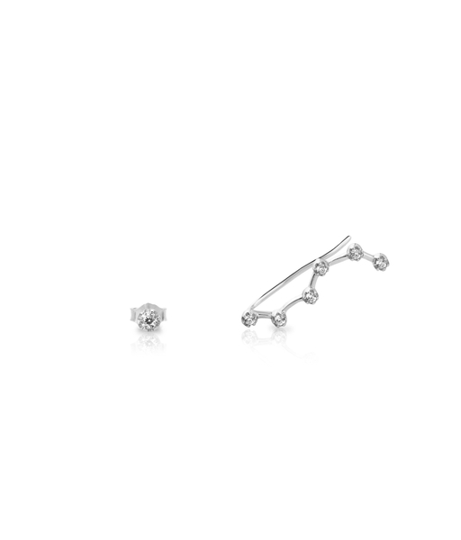 CONSTELATION silver earrings