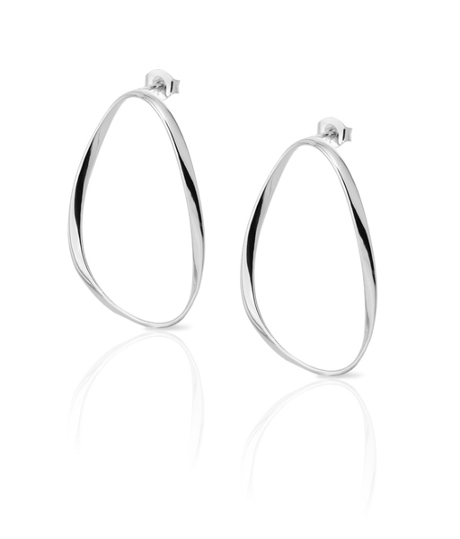 BUBBLE silver earrings
