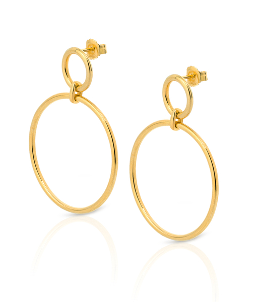 ICONIC gold earrings