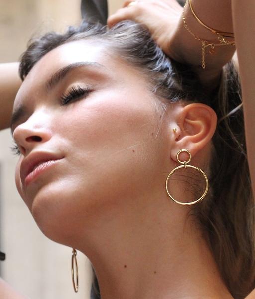 Boucles d'oreilles ICONIC or