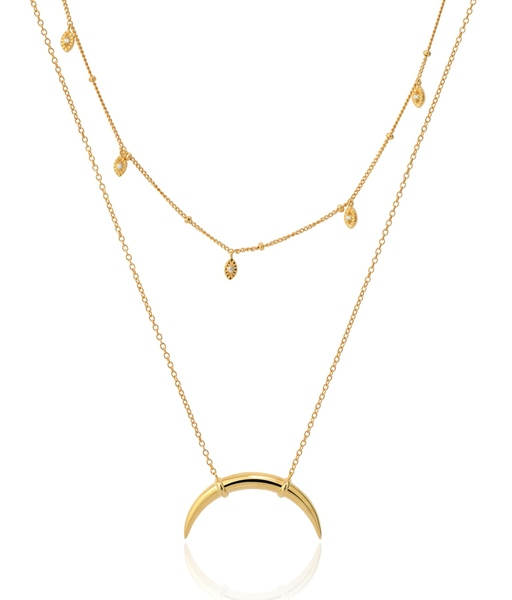 BILLIONS gold necklace