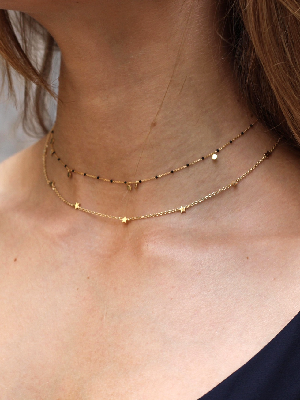 NUIT gold necklace