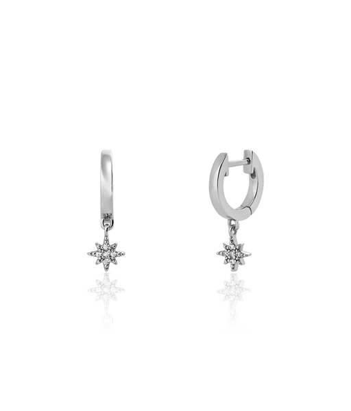 Boucles d'oreilles POLAR plata