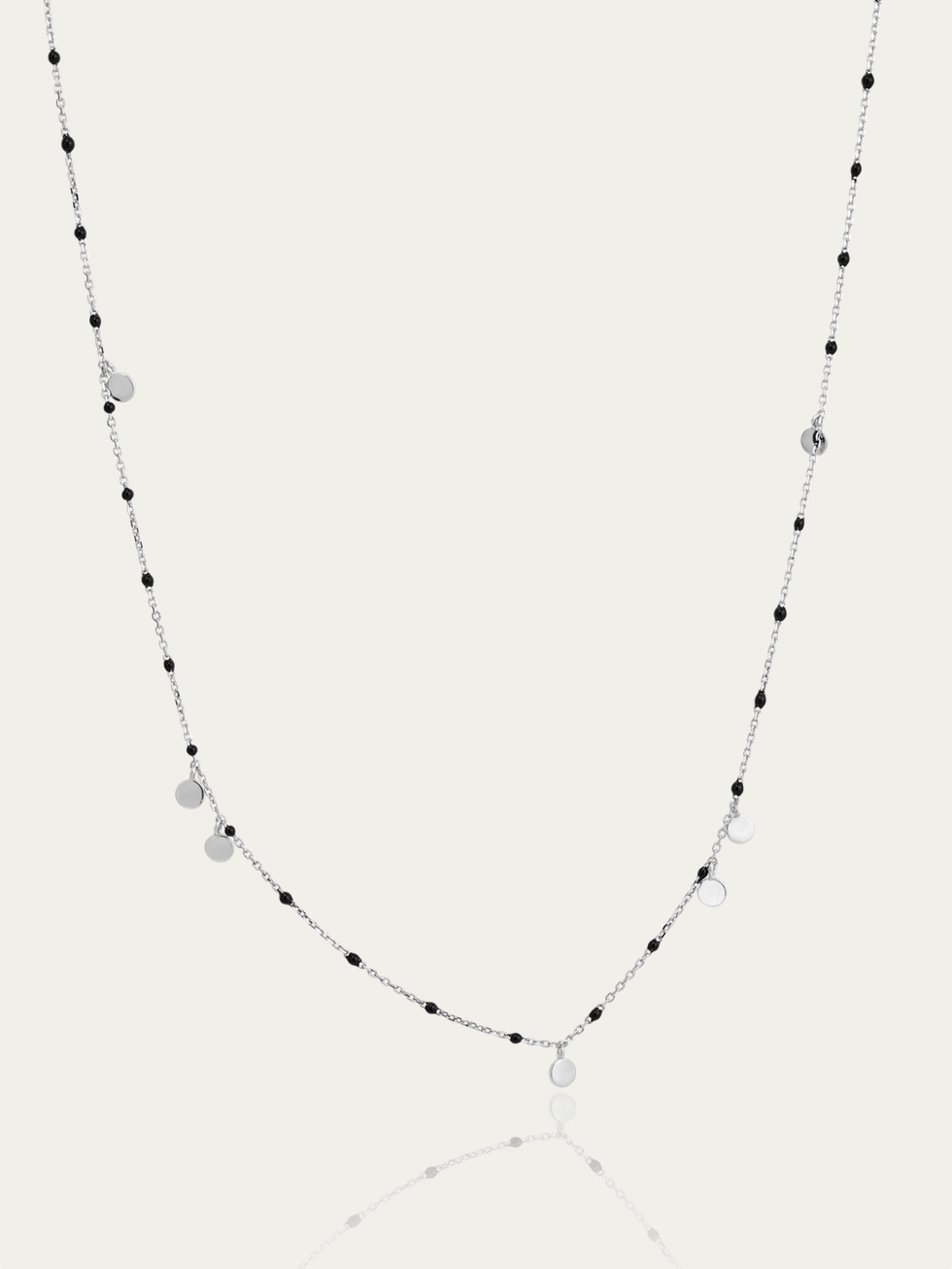 Silver NUIT necklace
