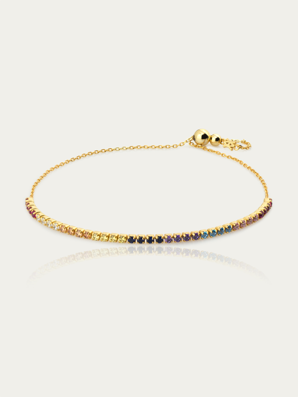 Pulsera colors gold2