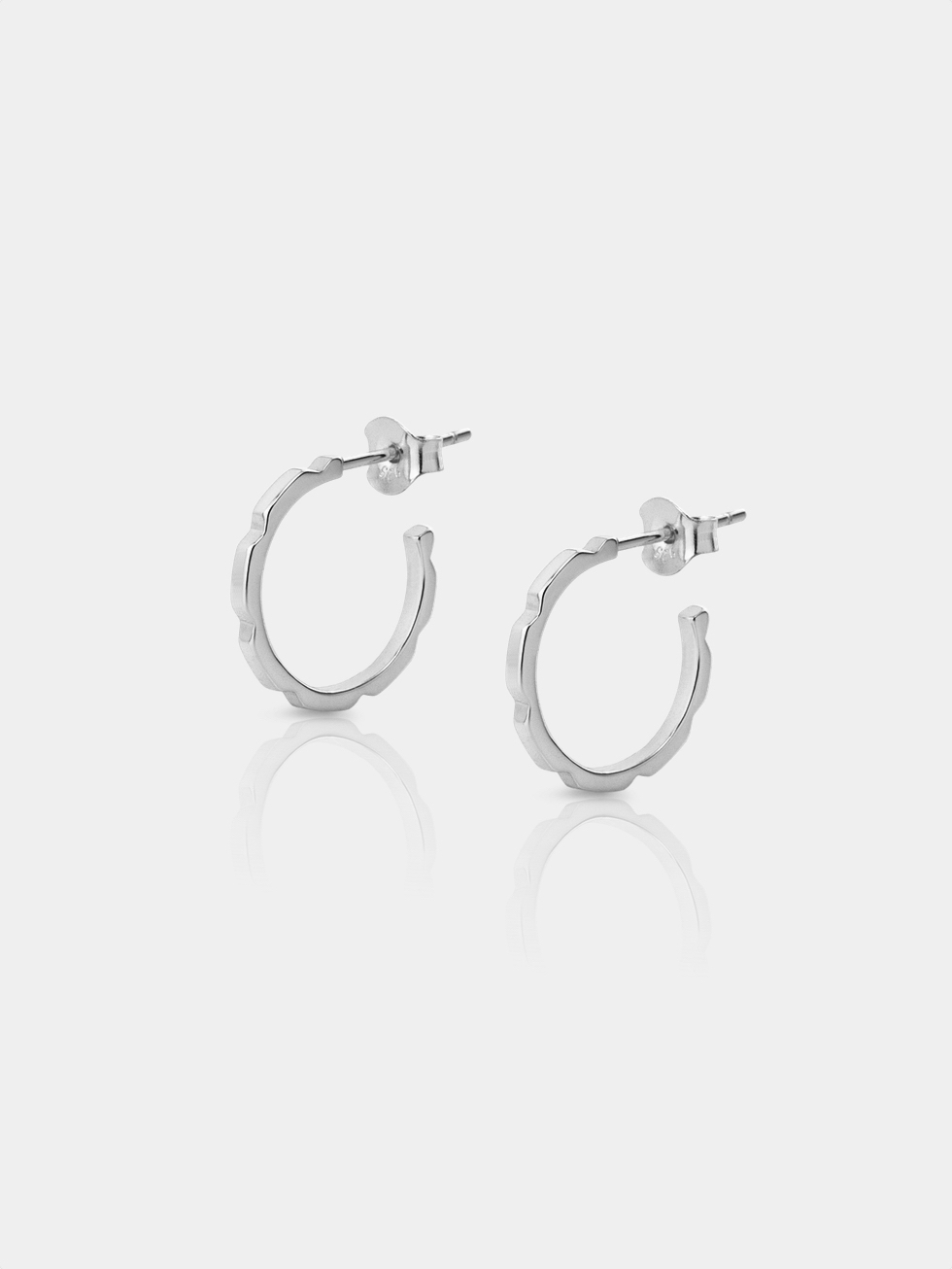 CUBIK silver earrings