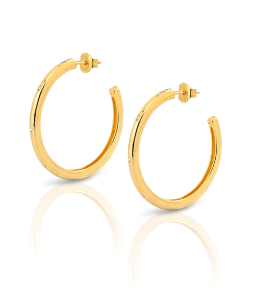 Boucles d'oreilles SATURN or
