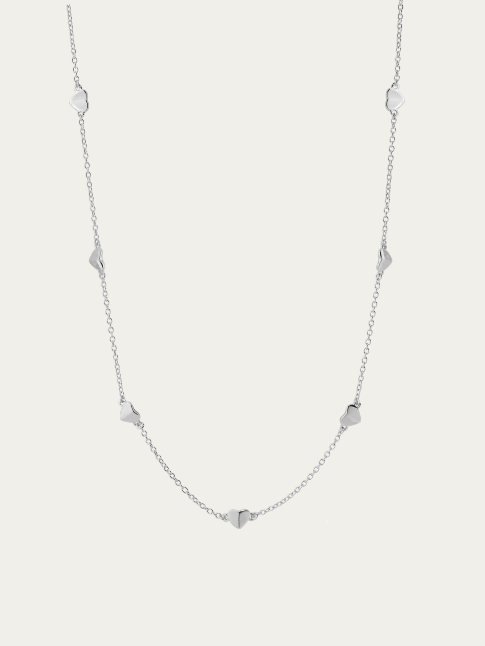 CORAZONES slv necklace