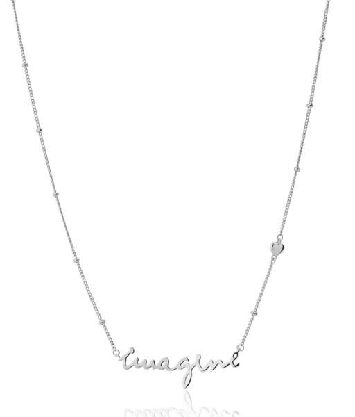 Collar IMAGINE plata