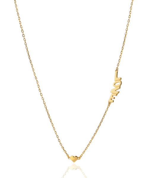 LITTLE LOVE gold necklace