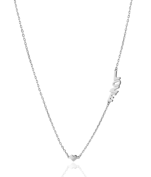 Collar LITTLE LOVE plata
