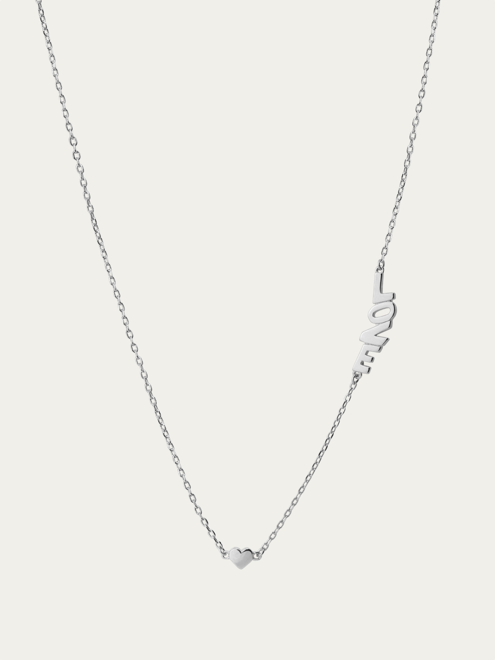 LITTLE LOVE silver necklace