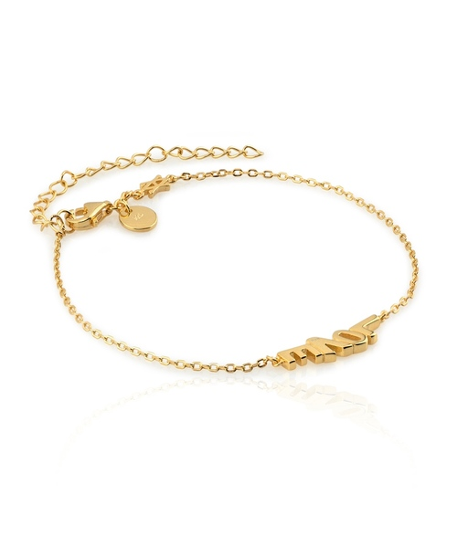 LITTLE LOVE gold bracelet