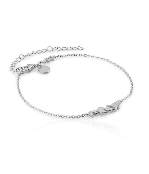 Bracelet Little LOVE plata