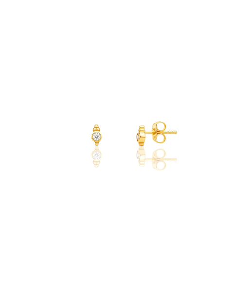 JAR stud gold earrings