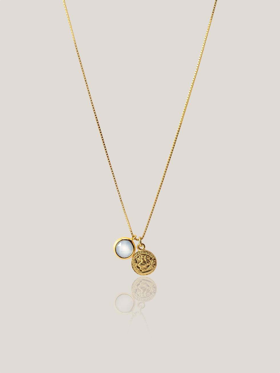 Collar little coin gold2
